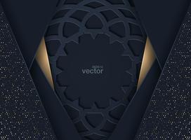 Design moderno de capa abstrata