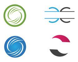 Letra C logotipo modelo vector ícone do design