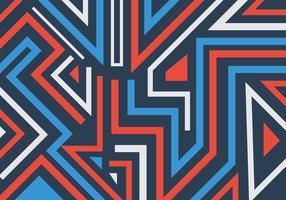 Linhas e formas geométricas grafite abstrato padrão de fundo vetor