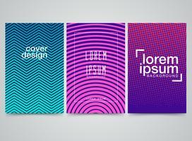 Design de capas de padrão