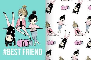 Conjunto de padrões de melhor amigo