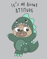 É Tudo Sobre Atitude vetor