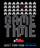 Hora do jogo apenas por diversão vetor