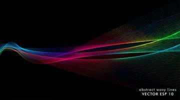 linhas de onda de fundo