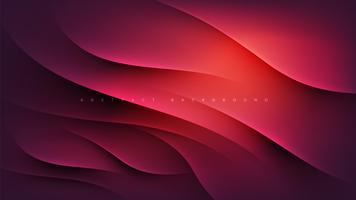Página de destino abstrata rosa