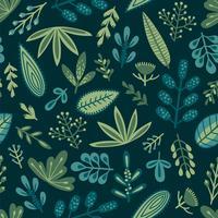 Botânica padrão sem emenda