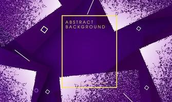 Fundo colorido abstrato dinâmico com elementos geométricos vetor