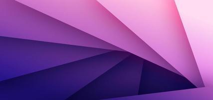 Fundo abstrato triângulo rosa e roxo