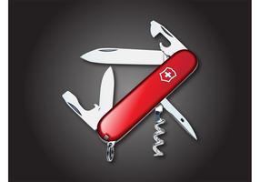 Vetor de faca suíça