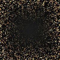 Fundo de estrelas douradas vetor