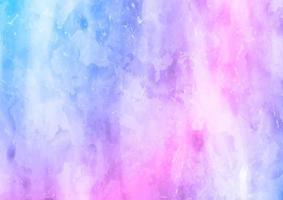 Fundo de textura aquarela azul e rosa vetor
