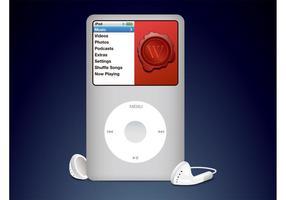 Vetor do iPod da Apple