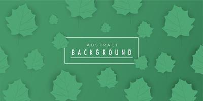 Design de fundo abstrato gradiente de folha