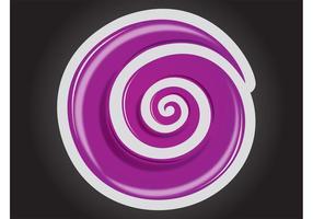 Logotipo de doces vetor