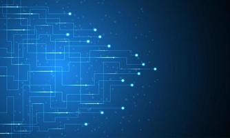 Projeto de circuitos eletrônicos vetor