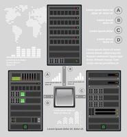 Computador para um servidor de criptografia vetor
