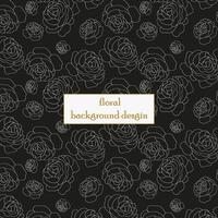 teste padrão floral elegante