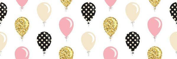 Balões sem costura de fundo.