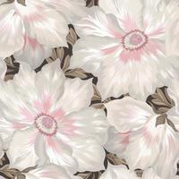 Padrão sem emenda pastel floral