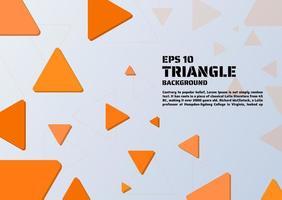 Abstrato triângulo