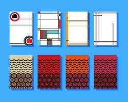 Desenhos geométricos de capa