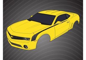 Peças Chevrolet Camaro vetor