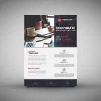Modelo de Folheto corporativo de negócios