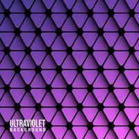 Modelo de plano de fundo violeta triângulos vetor