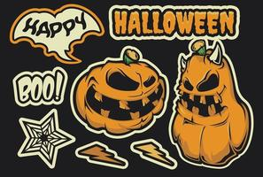 Pacote de adesivos de Halloween