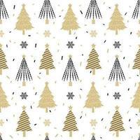 Padrão sem emenda de árvore de Natal