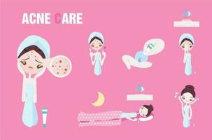 Acne Care Steps Design de beleza