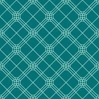 padrão geométrico de diamante arredondado sem emenda vetor