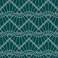 padrão de onda de diamante geométrico simples art deco vetor
