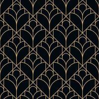 padrão geométrico de diamante preto sem costura vetor