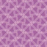 padrão de forma arredondada roxo sem emenda vetor