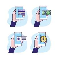 definir smartphone com transação digital e de segurança