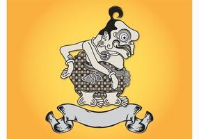 Logotipo da Indonésia vetor