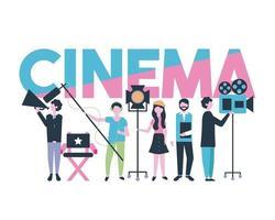 produção de pessoas do filme