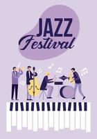 Cartaz do festival de jazz