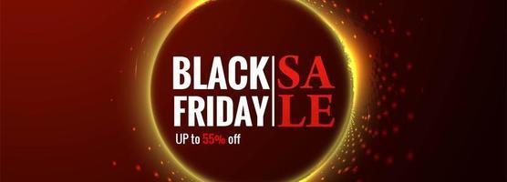Cartaz de sexta-feira negra ou fundo de promoção de venda de banner