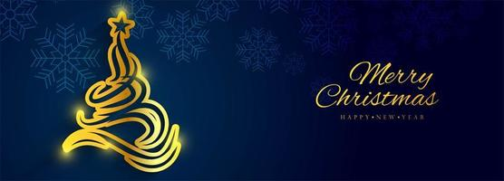 Belo Natal banner fundo vector