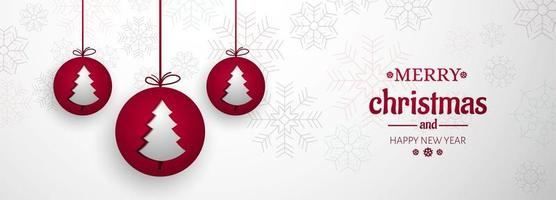 Feliz Natal fundo para elementos de Natal banner fundo vetor