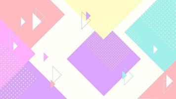 abstrato geométrico colorido vetor