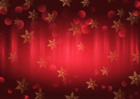 Projeto de flocos de neve de Natal vetor