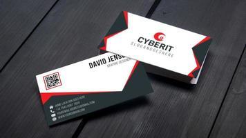 Modelos profissionais de cartões de visita