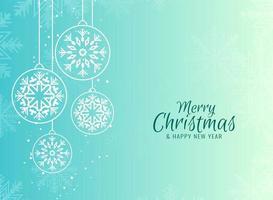 Feliz Natal fundo festivo vetor