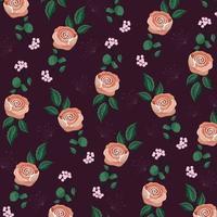 Fundo floral vintage