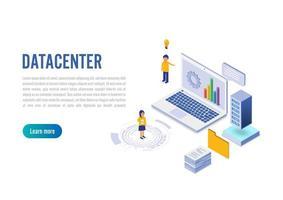 Administrador de conexão com o datacenter da Internet