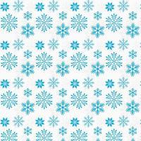 projeto azul do fundo dos flocos de neve vetor