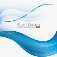 Projeto de ondas azuis.
